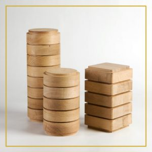 Houten urnen